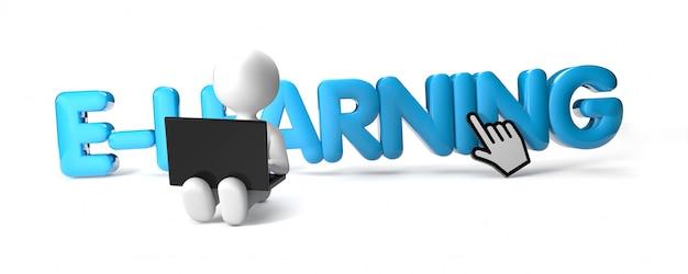 E-learning man