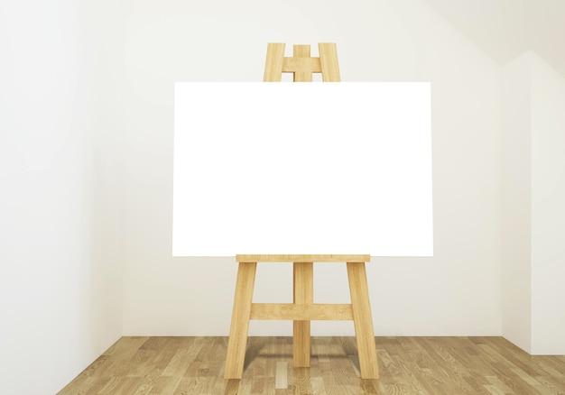 Easel leeg canvas