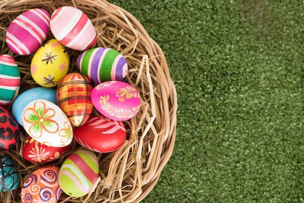 Easter egg bg