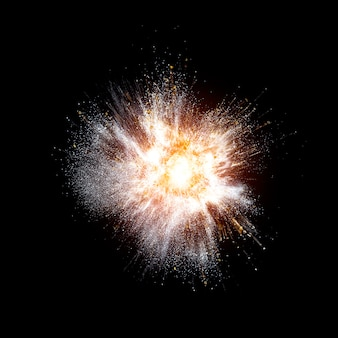 Echte explosie achtergrond