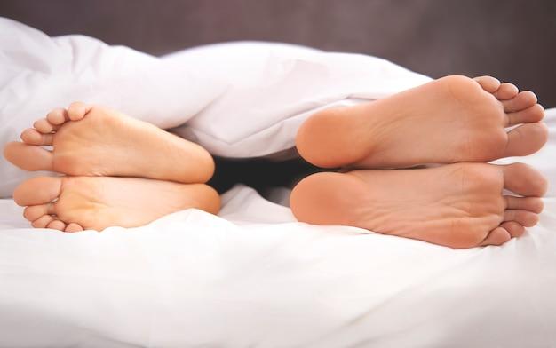 Echtpaar problemen in het bed