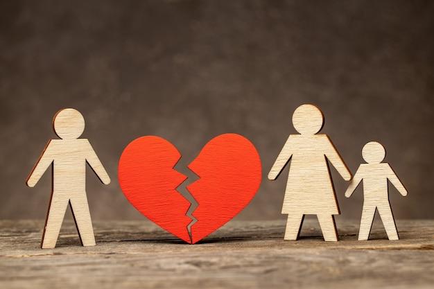 Echtscheiding in gezin met kinderen