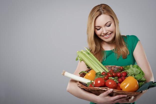 Eco-groenten geven ons de mogelijkheid om gezond te blijven