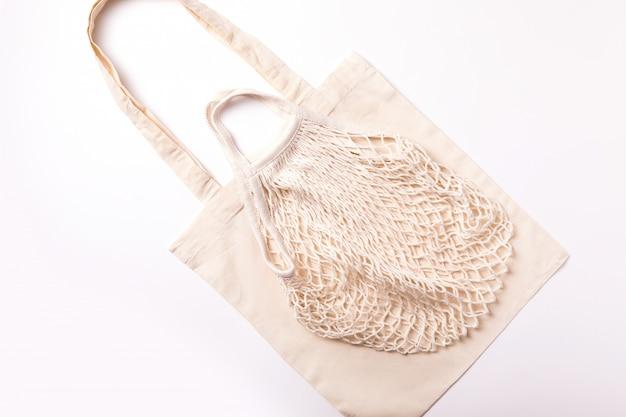 Eco katoenen boodschappentas milieuvriendelijk winkelen