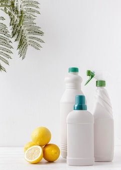 Eco-producten concept met kopie ruimte