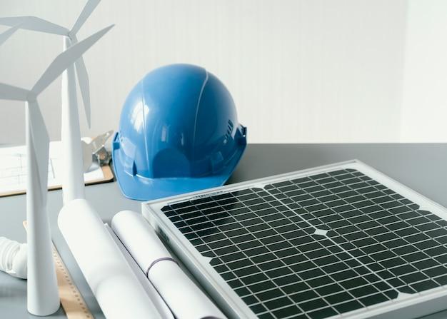 Eco-projectelementen en helm