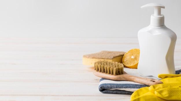 Eco schoonmaakproducten vooraanzicht