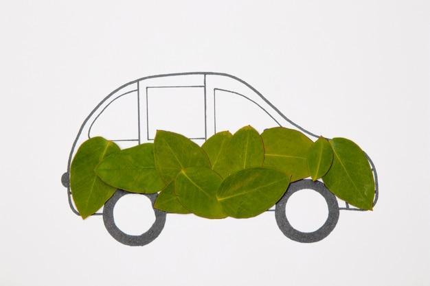 Eco-vriendelijk recyclingconcept