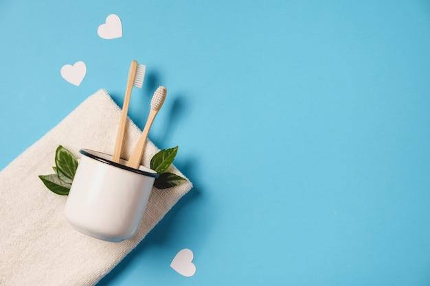 Eco-vriendelijk, valentijnsdag concept.