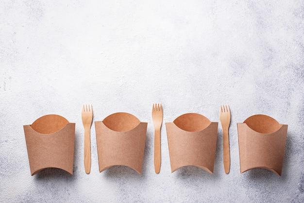 Eco-vriendelijke fastfoodcontainers