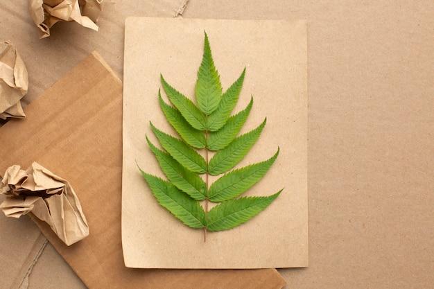 Ecologisch vel papier