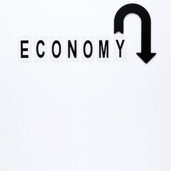Economiepijl met exemplaarruimte