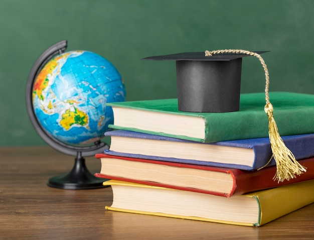 Educatieve objecten assortiment close-up