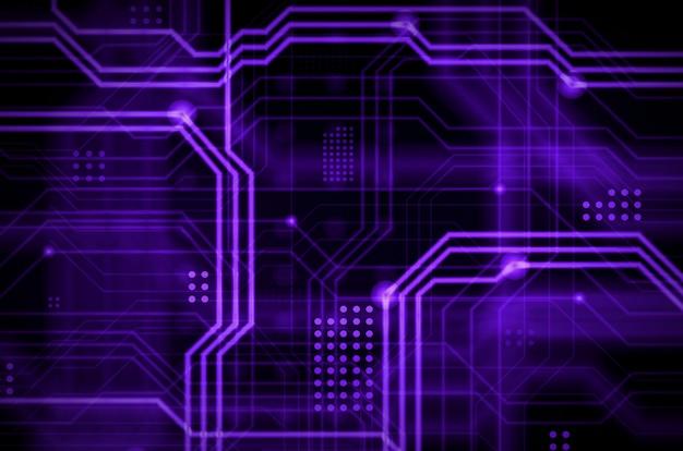 Een abstracte technologische achtergrond