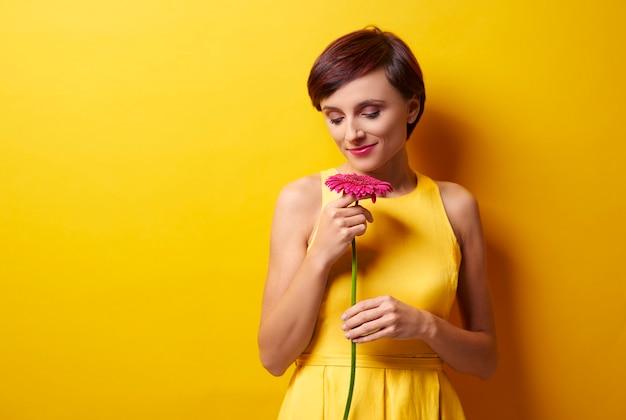 Eén bloem zal je echter opvrolijken