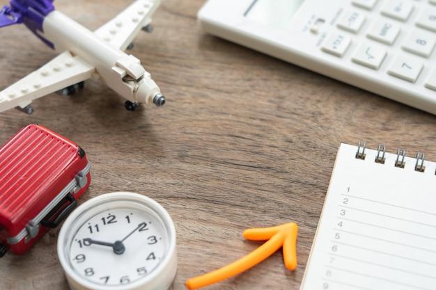 Een book rankings met vliegtuigmodel