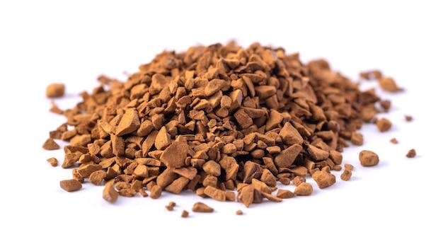 Een bos natuurlijke oplosbare gevriesdroogde koffie