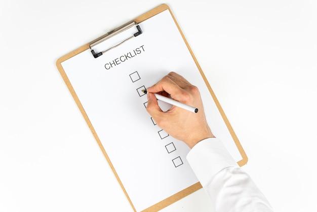 Een checklist voor onze dagelijkse routine