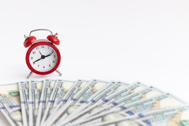 Een concept over de relatie tussen tijd en geld.