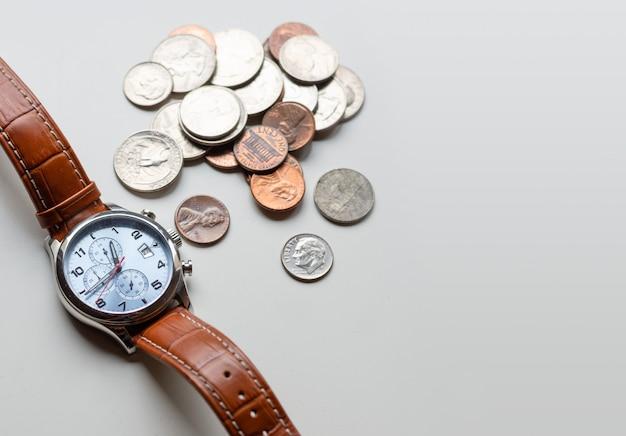 Een concept over de relatie tussen tijd en geld