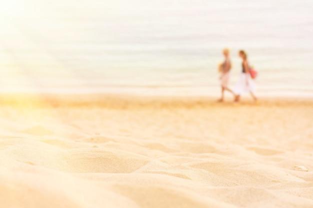 Een dag op het strand reizen zeegezicht vakantie en zomervakantie concept elegante visuals