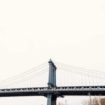 Een deel van de brug in new york