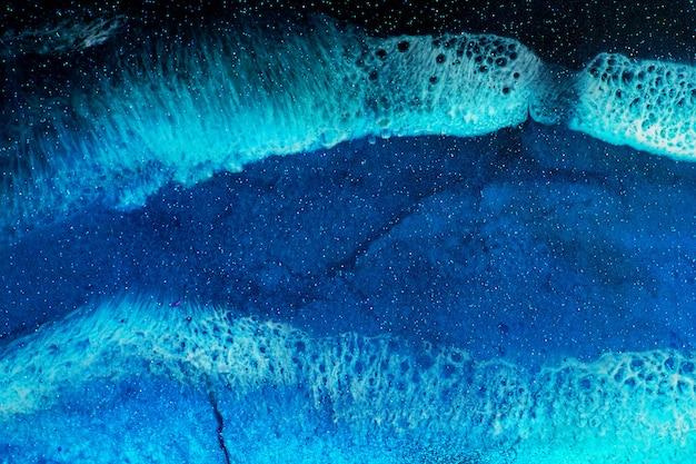 Een deel van de originele epoxyhars kunst achtergrond