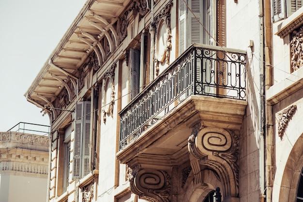 Een deel van het britse koloniale gebouw