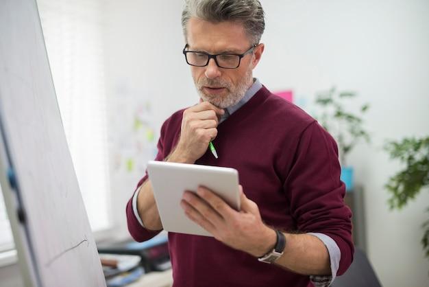 Een digitale tablet kan het probleem oplossen