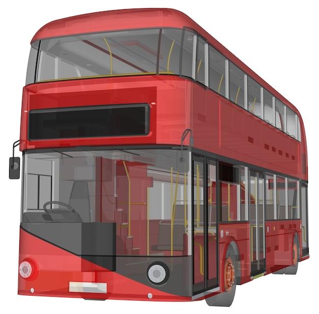 Een dubbeldekkerbus