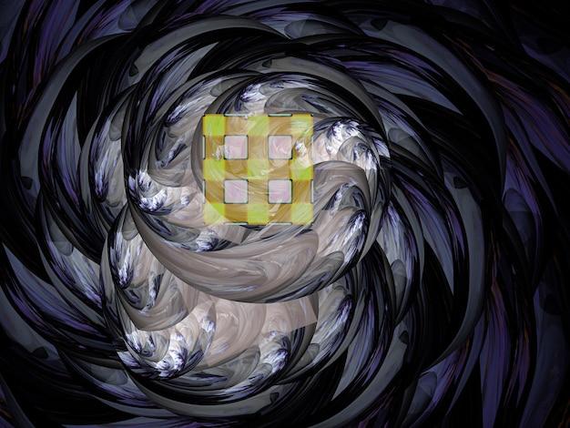 Een dynamische abstracte achtergrond