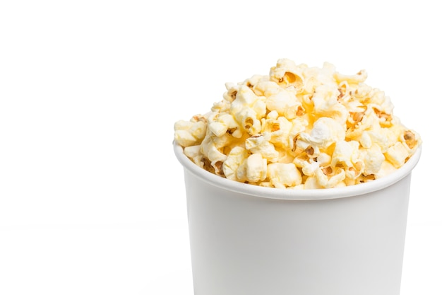 Een emmer popcorn