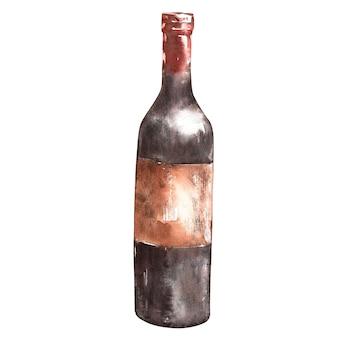 Een fles wijn