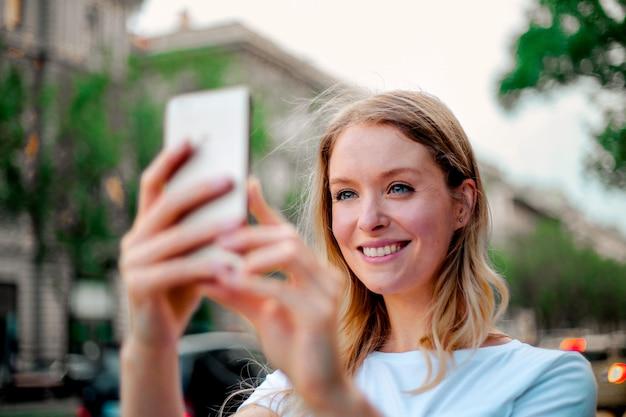 Een foto maken met een smartphone