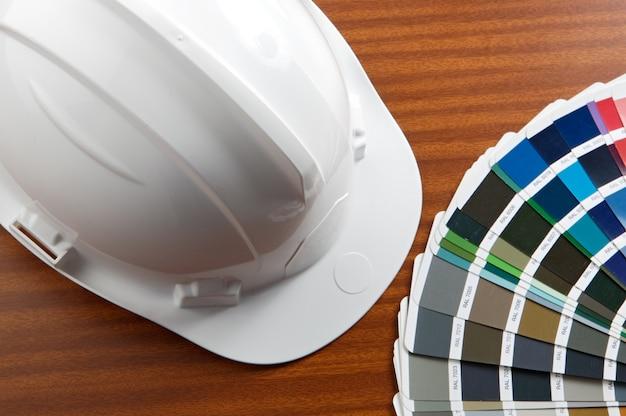 Een foto van huisplannen van blauwdrukken