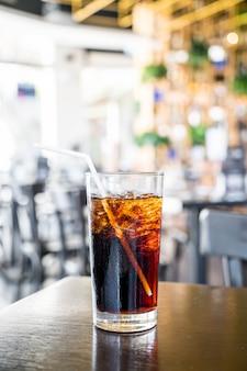 Een glas cola