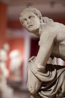 Een historisch beeld uit de romeinse tijd
