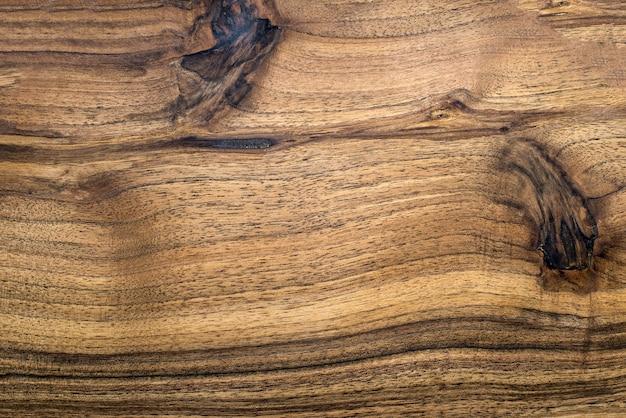 Een hoge resolutie textuur van bruin eikenhouten bureau
