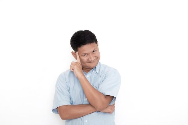 Een jonge aziatische man