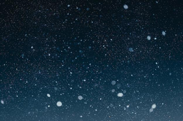 Een kerstnachthemel