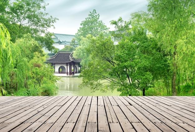 Een klassieke tuin gelegen in slender west lake