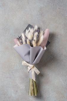 Een klein boeket lavendel