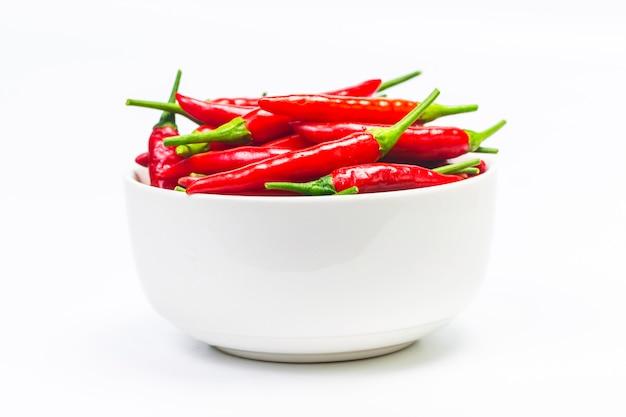 Een kom peper