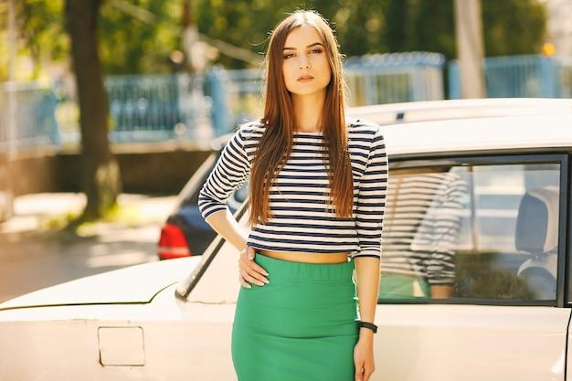 Een meid met stijl