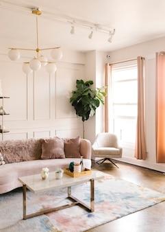Een moderne woonkamerstijl