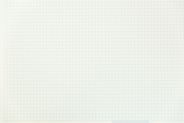 Een open blanco notebook, pagina's in een kooi