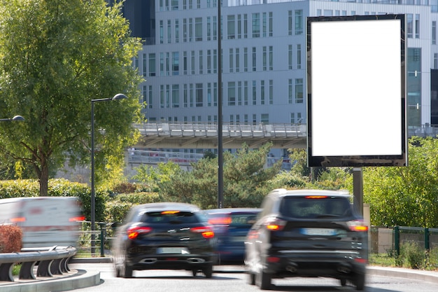 Een outdoor billboard-advertentie