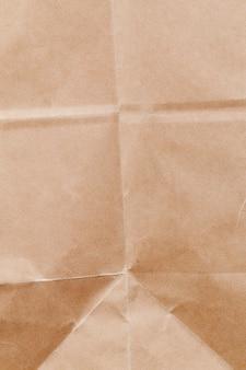 Een papieren zak gemaakt van gerecycled oud papier
