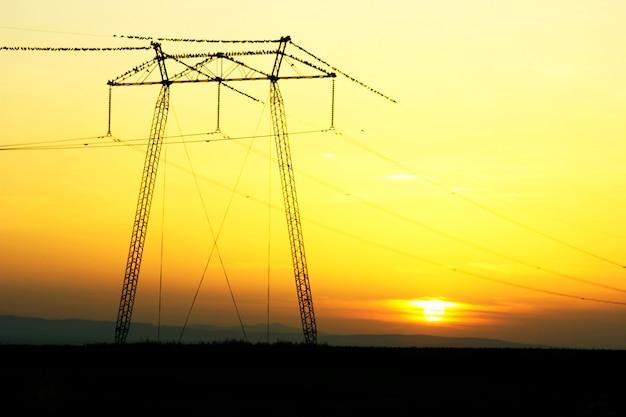 Een power pole-kabel