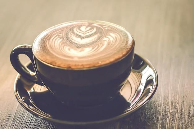 Een prachtige kop koffie in de ochtend